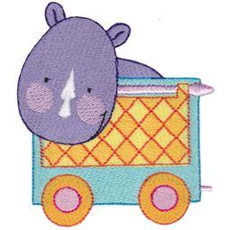 Rhinoceros Carriage