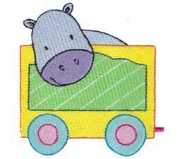Hippopotamus Carriage