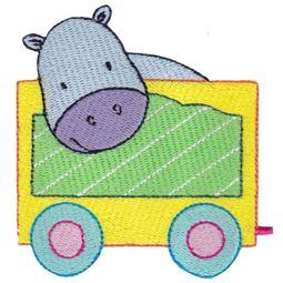 Hippopotamus Carriage