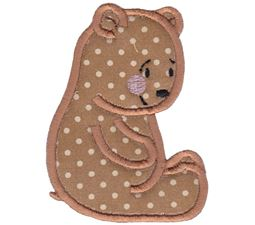 Cute Forest Animals Applique 1