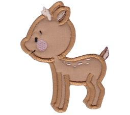 Cute Forest Animals Applique 3