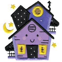 Applique Haunted House