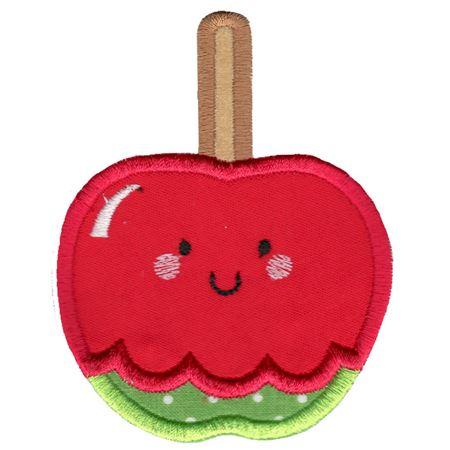 Applique Candy Apple