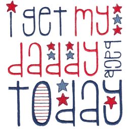 I Get My Daddy Back Today