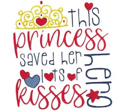 This Princess Saved Her Hero Lots of Kisses