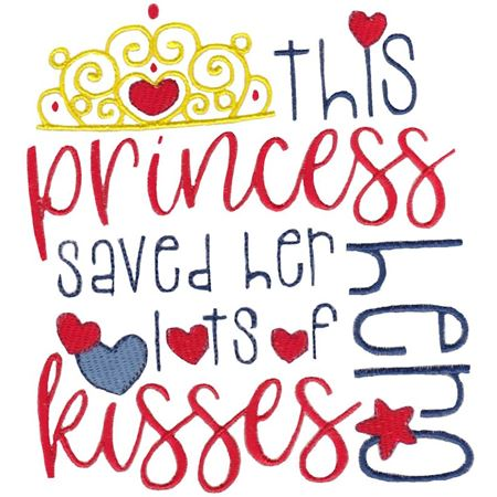 This Princess Saved Her Hero Lots of Kisses