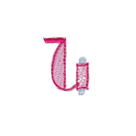 Dangles Lower Case Alphabet u