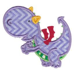 Dashing Dragons Applique 2