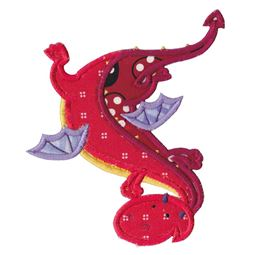 Dashing Dragons Applique 4
