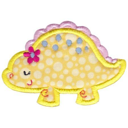 Dinosaur Girl Applique 4