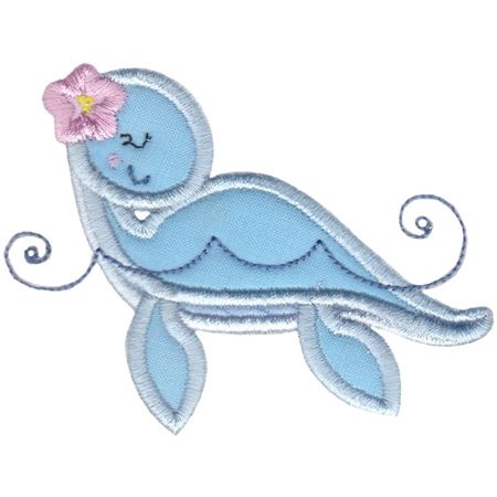 Dinosaur Girl Applique 8