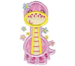 Dinosaur Girl Applique 9