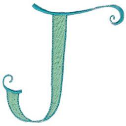 Dominique Alphabet Capital J