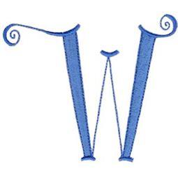 Dominique Alphabet Capital W