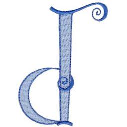 Dominique Alphabet Lower Case d