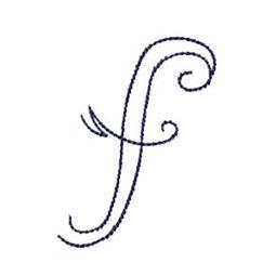 Doodle Alphabet f