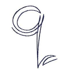 Doodle Alphabet q
