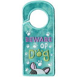 Beware Of Dog Door Hanger