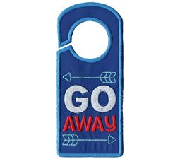 Go Away Door Hanger