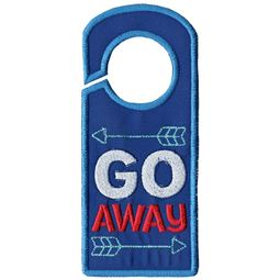Go Away Door Hanger