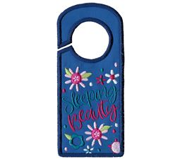 Sleeping Beauty Door Hanger