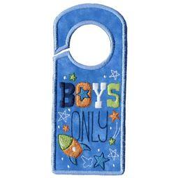 Boys Only Door Hanger
