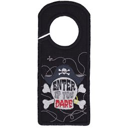 Enter If You Dare Door Hanger