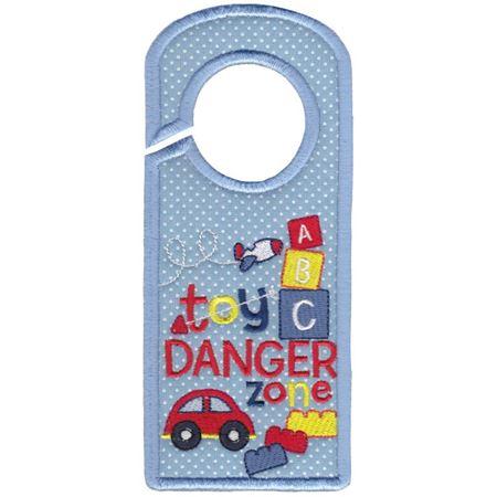 Toy Danger Zone Door Hanger
