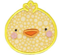 Chick Face Applique
