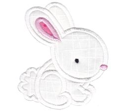 White Rabbit Applique