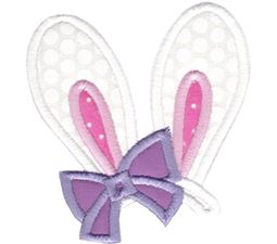Bunny Ears Applique