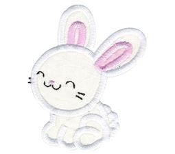 Cute Boy Bunny Applique