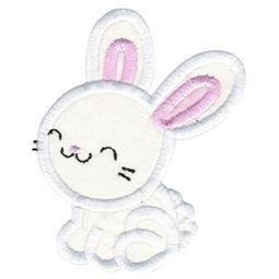 Cute Boy Bunny Applique
