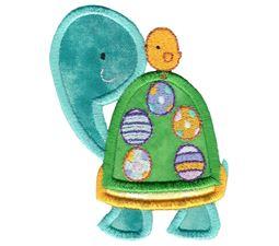 Easter Turtle Applique