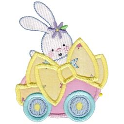 Easter Train Applique 1