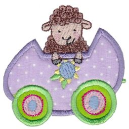 Easter Train Applique 11