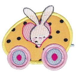 Easter Train Applique 3