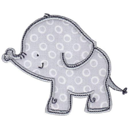 Boy Elephant Applique