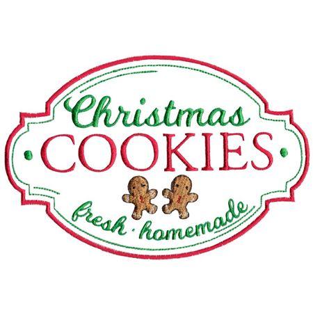 Christmas Cookies Fresh Homemade