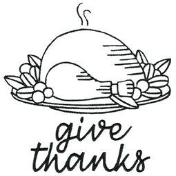 Roast Turkey Give Thanks