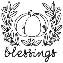 Pumpkin Blessings