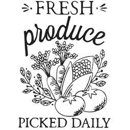 Fresh Produce Picked Daily