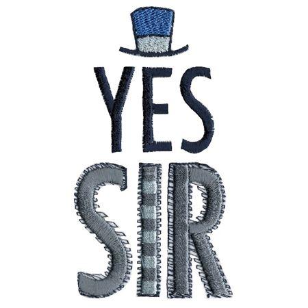 Yes Sir