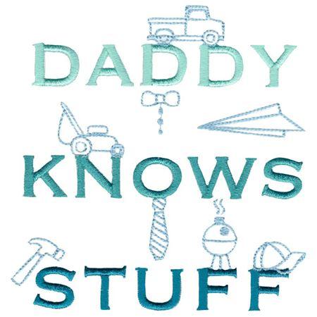 Daddy Knows Stuff