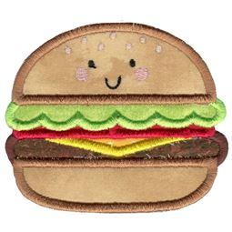 Applique Hamburger
