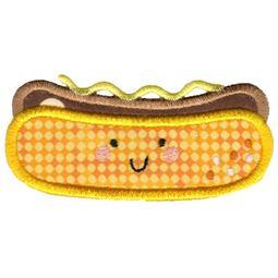 Applique Hotdog