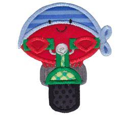 Biker Crab Applique