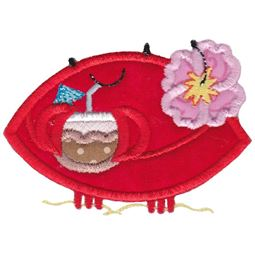 Cocktail Crab Applique