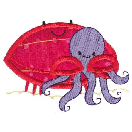 Best Friends Crab Applique