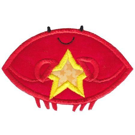 Star Crab Applique